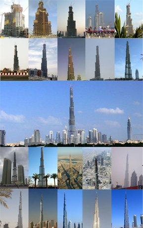 Burj Dubai Evolution