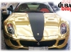 Golden Ferrari in Dubai - Ferrari d&#039;oro a Dubai