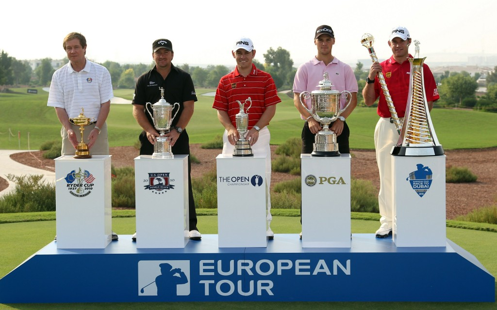 dubai-golf-world-championship-dp-world-Trophies-at-DWC