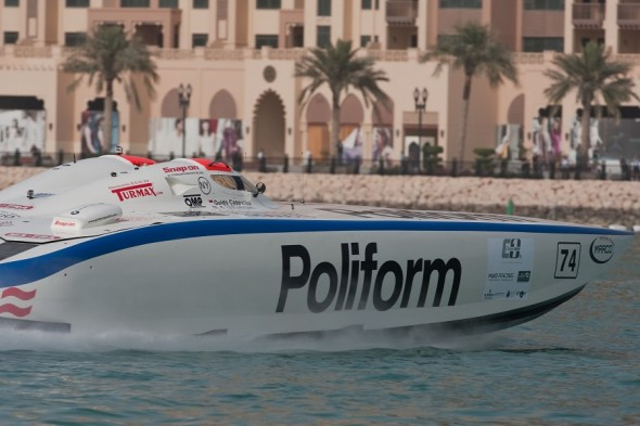 Doha - 13 - 17 March 2012 2012 UIM Class 1 World Powerboat Championship Pearl Qatar Grand Prix Photo Simon Palfrader©