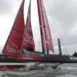 America-s-cup-Napoli- 2012-emirates team new zealand-terza-giornata