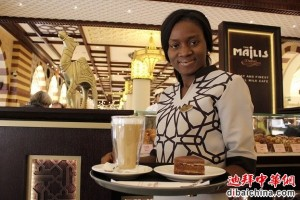Latte di cammello: provalo al The Majlis all'interno del Dubai Mall e hai un cioccolatino gratuito
