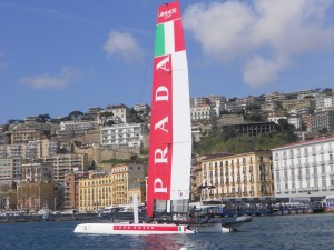 Calendario regate e gare America's Cup a Napoli, World Cup Series 2013