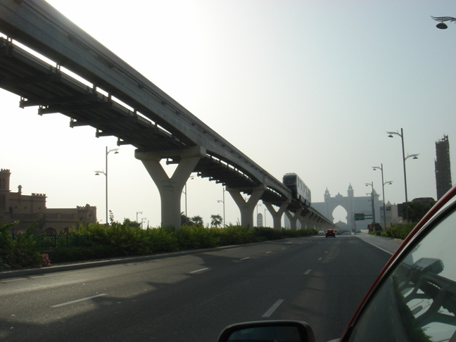 DubaiMetro: stazione di Atlantis The Palm Jumeirah