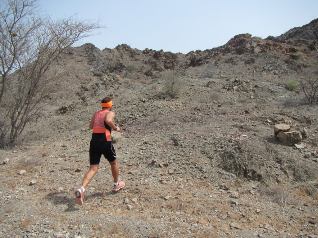 Hatta Fort Hotel: trail run