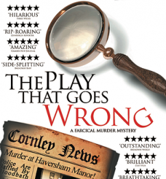 "A Dubai va in scena la commedia ""The Play That Goes Wrong"""