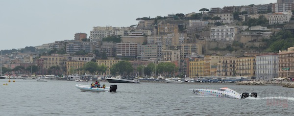 Soffio Fast Rib used as rescue boat during the Round 3 of XCat World Series, Powerboat Championship