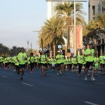 We Run DXB: 8.000 magliette verdi invadono Dubai