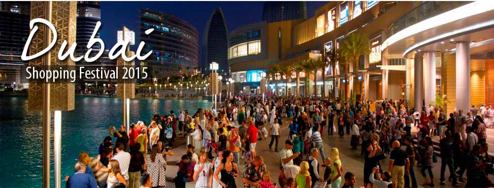 Dubai Shopping Festival 2015