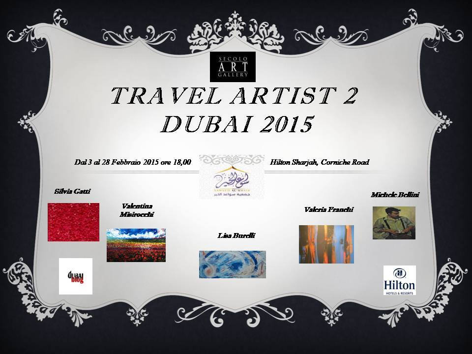 Travel Artist Dubai 2015