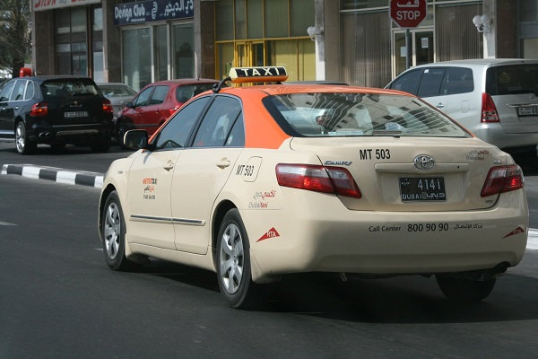 dubai taxi check-in