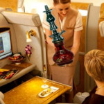 Emirates introduce sale per fumare shisha a bordo