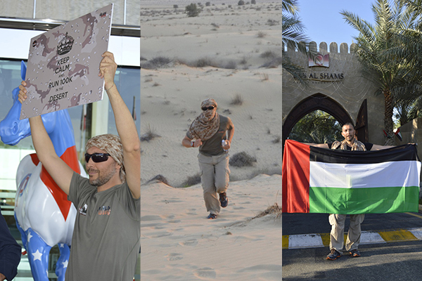Keep Calm and.. corriamo 100Km per celebrare il 44° National Day degli Emirati Arabi