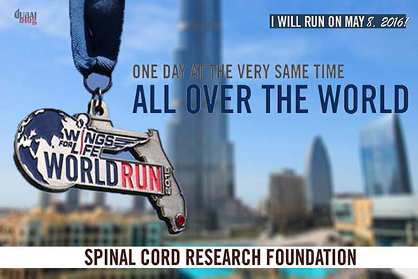 wings for life corsa maratona disabili dubai ricerca
