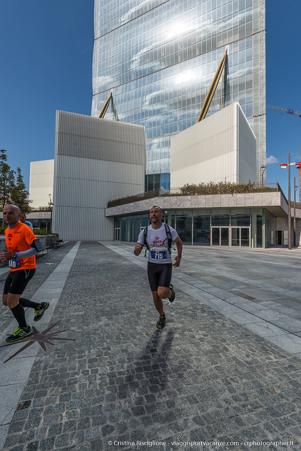 Salomon Running Milano 2017 Citylife Torre Allianz