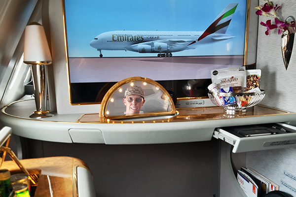 Volare in First Class con Emirates
