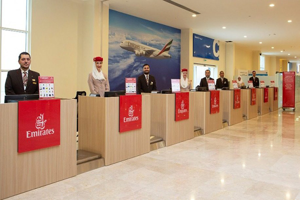 navi crociera dubai emirates check in